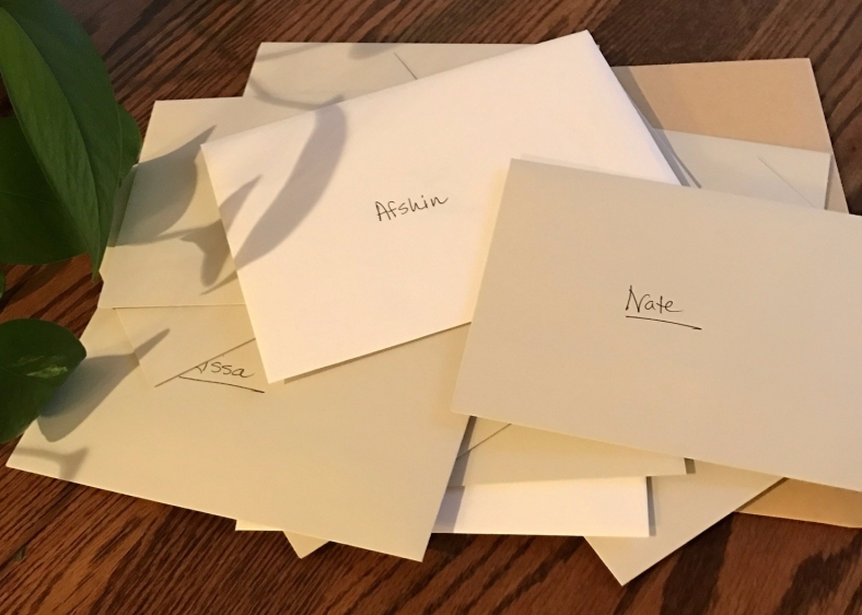 Thank You Notes Picture